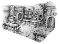 Bar/Tavern interior scene - Polycount Forum
