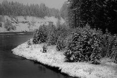 Middlefork of the Flathead River in Glacier National Park