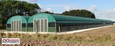 Mobile Poultry House | Design Polytunnel for Birds | Mcgregor Polytunnel