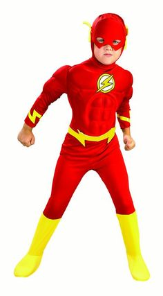 DC Comics Deluxe Muscle Chest The Flash Costume, Small ! DC Comics Deluxe Chest The Costume, Small Dc Comic Costumes, Toddler Costumes, Boy Costumes, Super Hero Costumes, Halloween Costumes For Kids, Superhero Halloween, Boys Superhero Costumes, Children Costumes, Toddler Halloween