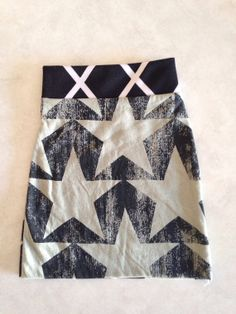 Rock star pencil skirt by handmaidends on Etsy, $8.00
