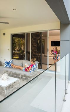 """A large open-plan home overlooking Queensland's best golf course is the perfect environment for ForceField® security screens. """"The home owner wanted the strongest and best looking security screens money could buy,"""" said the Prowler Proof dealer."""