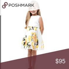 Girls sleeveless lemon dress 3T 4T 5T 6X NWOT Girls sleeveless lemon dress 3T 4T 5T 6X NWOT mommy and me Dresses