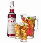 Amazing drink that I loved in Liverpool.  Recipe:  Mix 1 part Pimm's with 3 parts chilled lemonade  Add some mint, cucumber, orange, and strawberry.  DELIGHTFUL!