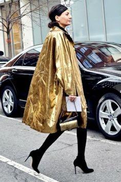 Thank God it's a metallic Monday! - Fashionscene - Fashion, Beauty, Models, Shopping, Catwalk
