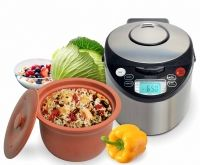The award-winning VitaClay®Chef Gourmet Rice and Slow Cooker Pro is now updated to a Smart Organic Multicooker! It is a slow cooker, rice cooker, steamer, plus bonus maker! Makes Probiotic Rich Greek Yogurt, Yogurt Or Yogurt Cheese Slow Cooking, Cooking Tips, Cooking Bowl, Healthy Cooking, Healthy Eating, Cooking Kale, Cooking Pasta, Best Multi Cooker, Small Crock Pot