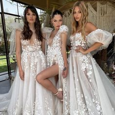 #Berta #vakkowedding #bridal Bridesmaid Dresses, Wedding Dresses, Lace Wedding, Trunks, Bridal, Studio, Shopping, Instagram, Salt