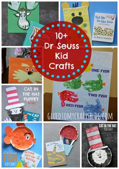 10+ Dr Seuss Kid Craft {Roundup}