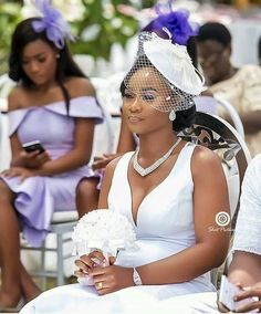 African Party Dresses, African Dresses For Kids, African Wedding Dress, Elegant Wedding Dress, African Fashion Dresses, Bridal Headpieces, Bridal Gowns, Wedding Gowns, Fascinators