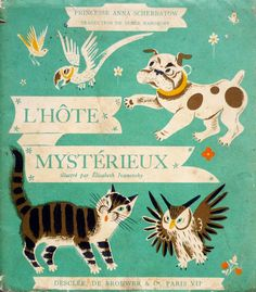Written by The Princess Anna Scherbatow & illustrated by Elisabeth Ivanovsky probably in the 40's