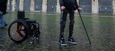 Sabías que El exoesqueleto asequible que permite andar a parapléjicos durante cuatro horas seguidas