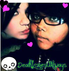 Death and her friend Tiffany.
