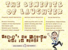 #Laughter: Good For Your Health