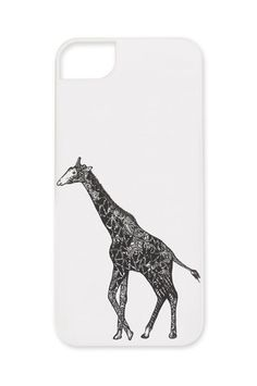 Giraffe Phone Case by Nikita & Vesper  $34.97  (10% of the  profits from this phone case will go to nonprofits)