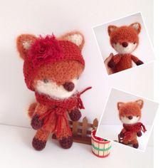 A personal favorite from my Etsy shop https://www.etsy.com/listing/248905227/amigurumi-fox-crochet-fox-crochet-doll