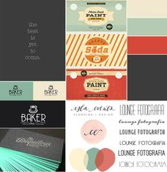 *Moodboard* for Graphic Design Project for Wedding Photographer // Hello Twiggs
