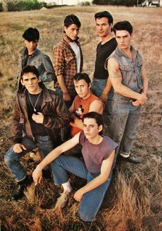 """vintage everyday: The Greasers from Francis Ford Coppola's """"The Outsiders"""" (1983)"""
