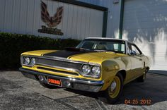 This F.A.S.T. (Factory Appearance Stock Tires) is looking really good on this Roadrunner.