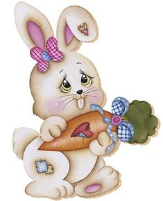 April Easter, Easter Art, Easter Crafts, Easter Bunny, Easter Eggs, Easter Paintings, Bunny Coloring Pages, Bunny Images, Easter Wallpaper