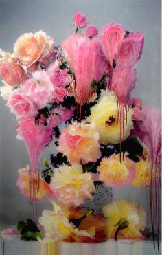 Nick Knight's Melting Florals #art