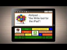 """This video is a tutorial on Abilipad, which is an app that """"combines the functionality of a notepad with word prediction, text-to-speech and a customizable keyboard, putting advanced writing tools within everyone's reach."""""""