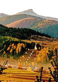 Rajecká Lesná, kalvária Slovenia, Wonderful Places, Hungary, Austria, Flora, Fantasy, Country, Fall, Nature