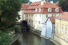 Prague - Water wheel By Roy Bell Water Wheels, Prague