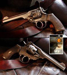 Prop Pistol Revolver Movie Indiana Jones The Last by artsee1com, $105.00