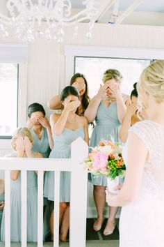 The big reveal: http://www.stylemepretty.com/2015/03/05/15-must-have-getting-ready-shots-for-every-bride/