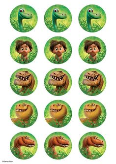 Buy the Good Dinosaur Cupcake edible icing images The Good Dinosaur Cake, Dinosaur Cupcakes, Dinosaur Birthday Cakes, Dinosaur Party, Baby Birthday, Birthday Parties, Arlo Und Spot, Dinosaur Printables, Dinosaur Pictures