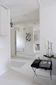 Homevialaura | Entry | Hallway | mirror doors after renovation