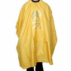 """Rosallini Interlocking Buckle Elastic Neck Salon Hairdressing Cape Yellow PVC Gown Cloth by Rosallini. $8.20. Color : Yellow, Black. Weight : 137g. Package : 1 x Hairdressing Cape. Product Name : Hairdressing Cape;Material : PVC. Neck Girth(No Stretch) : 33cm/ 13"""";Total Size : 145 x 120cm/ 57"""" x 47"""" (L*W). Professional Haircutting, Colouring, Perming, Shampoo Cape.With gold tone powder letter pattern, elastic neck with interlocking buckle, so it can be fit most people.Keep your c..."""