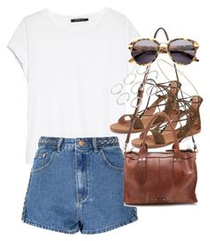 """Outfit for summer"" by ferned on Polyvore featuring MANGO, Glamorous, Madewell, Forever 21, Alexander Wang and Minor Obsessions"