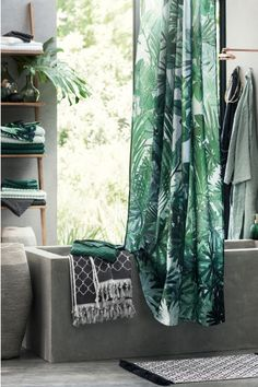 2-pack guest towels - Dark green - Home All   H&M GB 1