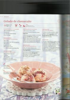 150 receitas as melhores de 2013 Sugar Sugar, Sweetest Thing, Sweet Recipes, Ice Cream, Desserts, Vanishing Oatmeal Cookies, Recipe Journal, Illustrated Recipe, Drinks