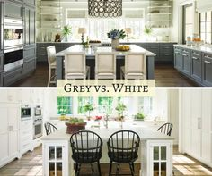 We love grey and white as neutrals for kitchen cabinetry - which Wellborn Cabinet, Inc. color is your favorite?!