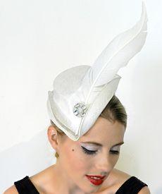 Fashion hat Thumbelina, designed by Melbourne milliner Louise Macdonald, Spring 2011 $420