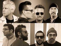 U2 Fotografia Divertimento Somiglianze Attori Attrici Cantanti Gruppi Facebook Sosia  Spettacolo Musica Pin Cartoni Film Gioco Televisione Amici