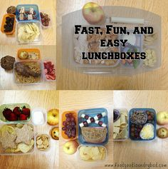 Fast and easy lunchbox ideas @Food Good Laundry Bad
