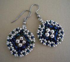 Jewelry Making Tutorials | Diamond Medallion ... by PJ Studio | Jewelry Pattern