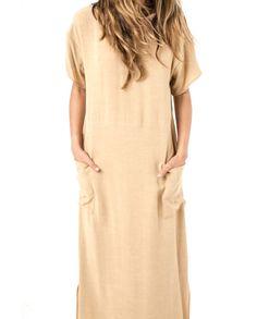 Seaton Dress Tan Tight
