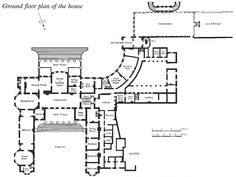 Belvoir Castle Ground Plan A Ground Plan Dating From The