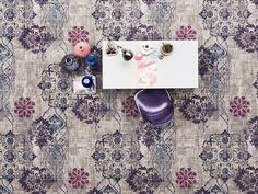 Vintage Tapijt Bonaparte : Bonaparte vintage vloerkleed of #tapijt. met accent kleur : oker