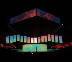 Stage Lighting Design, Stage Set Design, Event Design, Concert Stage Design, Concert Lights, Church Stage, Event Marketing, Scenic Design, Booth Design