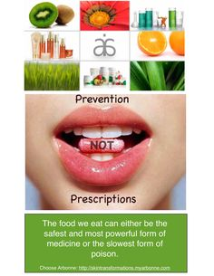 Prevention over Prescriptions!! Allow foods to be your prescription for wellness..let's remove your toxins with fruits and veggies!! Become a healthier and happier you! Visit my website for more information - nicolerussell.arbonne.com - CID 16027355