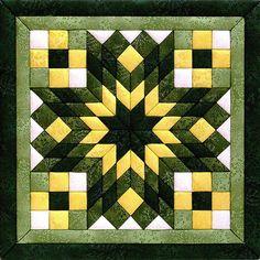 "Diamond Star Quilt Magic Kit-12""""X12"""""