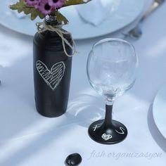 Alışılmışın dışında bir düğün için en az sizin kadar heyecanlıyız... #dugun #düğün #wedding #masasusleme #dekorasyon #organizasyon #tasarım #tasarim #butik #weddingplanner #designyourwedding #designyourday #gelin #damat #kutlama #eğlence #kadeh #glass #wineglass #black #kalp #vintage #blackboard #tebesir #chalk #izmir #anemonhotels #fishorganizasyon #masterpiece