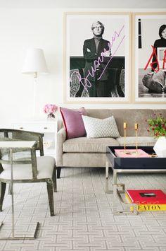 Living room by Kapito Muller Interiors.