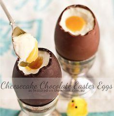 Cheesecake Chocolate Eggs