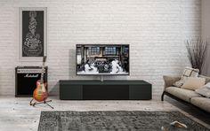 sound lowboard wahlweise mit tv halterung schwarz sound paket select